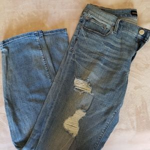 Express Jean's size 14 mid rise